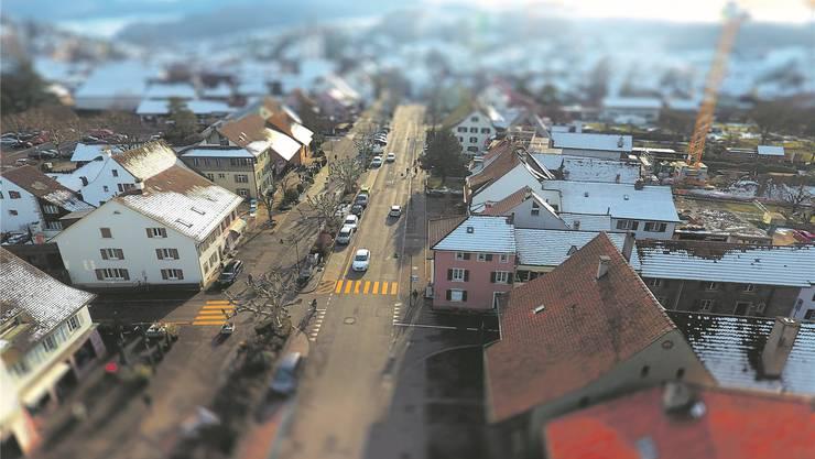 Muttenz (im Bild) und Birsfelden sind sozialdemokratische Hochburgen, doch am 31. März könnte die SVP der SP einen Sitz abluchsen.Mirjam Kohler