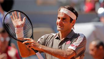 Roger Federer steht in den French-Open-Viertelfinals.