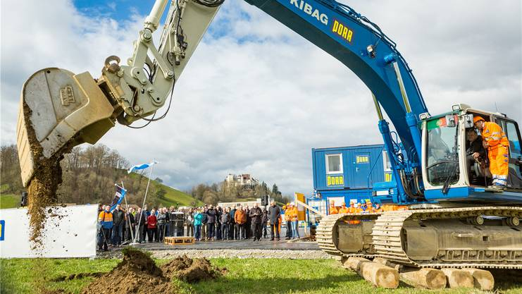 Die Bauarbeiten an der Grossbaustelle Knoten Neuhof haben im April begonnen.