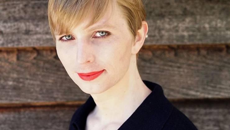Whistleblowerin Chelsea Manning auf dem ersten Foto, das sie nach der Freilassung aus der US-Militärhaft von sich veröffentlichte.