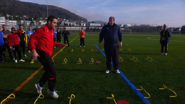 Ausbildung zum Speed-Agility-Quickness-Lauftrainer.