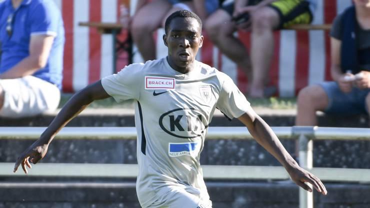 Aboubacar Cissé gefiel in Testspielen und Trainings, war für einen Transfer aber zu teuer.