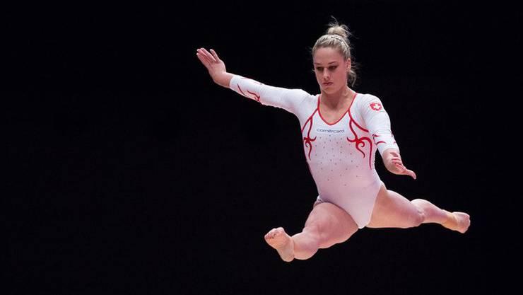 Lucas Fischer glaubt an das Potanzial von Giulia Steingruber. Sie hat sich an der WM in Glasgow für die Mehrkampf-, Sprung- und Boden-Finals qualifiziert.