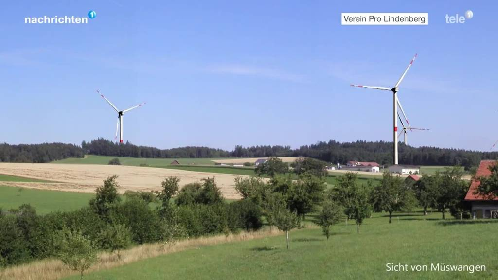 Opposition gegen Windpark Lindenberg