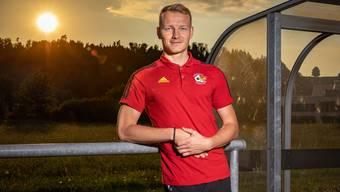 Manuel Moor hat 2019 seine Funktionärs-Karriere als Sportchef beim SC Schöftland lanciert.