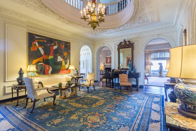 Das 40-Zimmer-Anwesen des Unternehmers John D. Rockefeller zeigt den Pomp vergangener Zeiten. Bild: Jaime Martorano