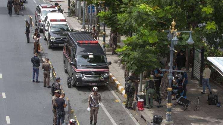 In Bangkok, wo derzeit ein Treffen der Aussenminister der Asean-Staaten ausgetragen wird, ist es zu mehreren kleineren Explosionen gekommen.