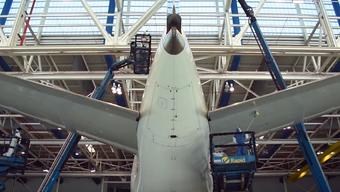 Die Fluggesellschaft aus den Arabischen Emiraten lässt seit 2016 all ihre über 250 Flugzeuge per «Drywash»-Verfahren reinigen.