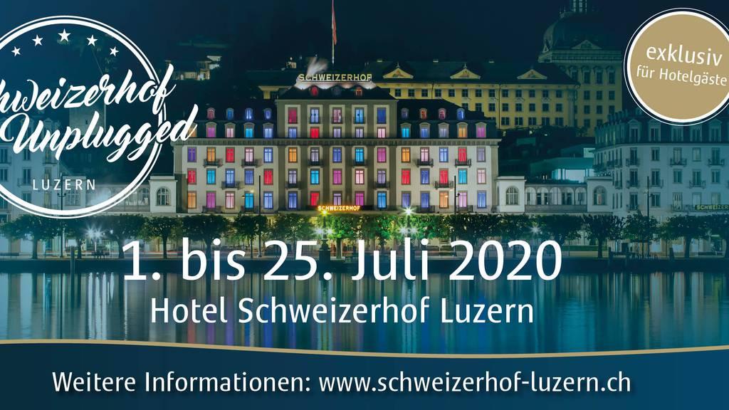 Hotel Schweizerhof mit Sommerfestival für Hotelgäste
