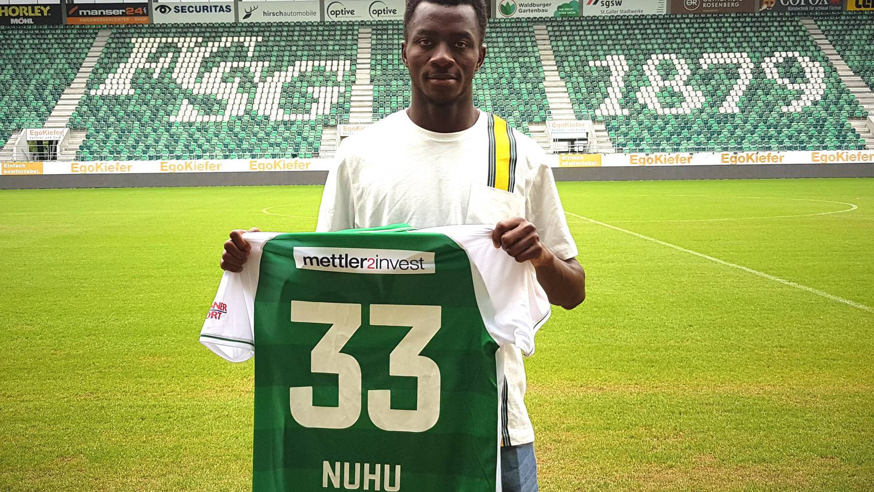 Der 21-jährige Musah Nuhu wird die Nummer 33 tragen.
