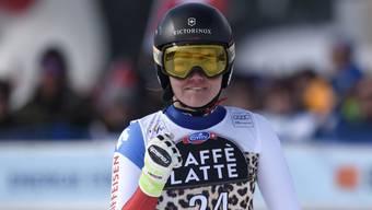 Sucht Vertrauen in ihre Ski: Fabienne Suter.