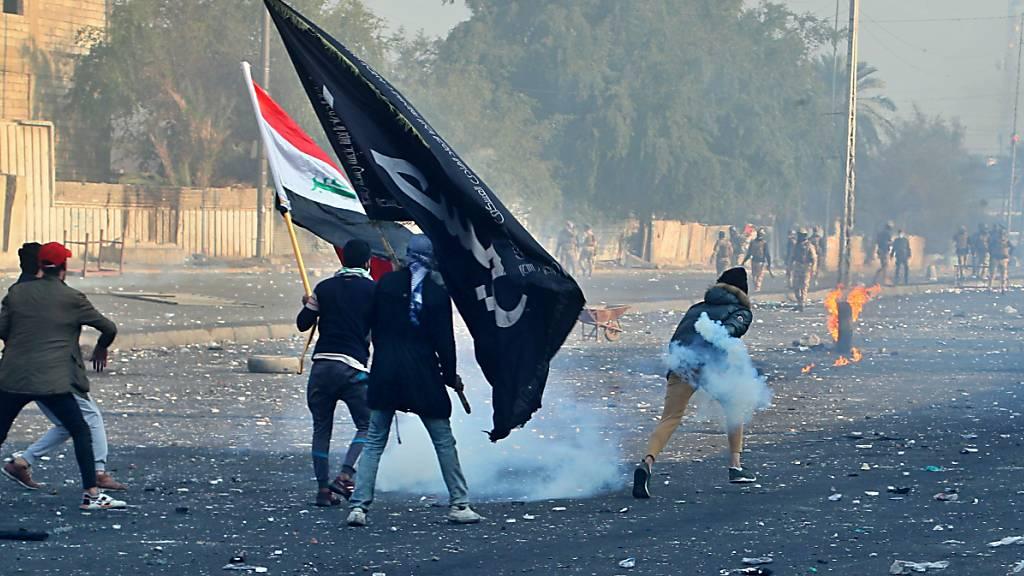 Proteste im Irak flammen wieder auf - Berichte über sechs Tote