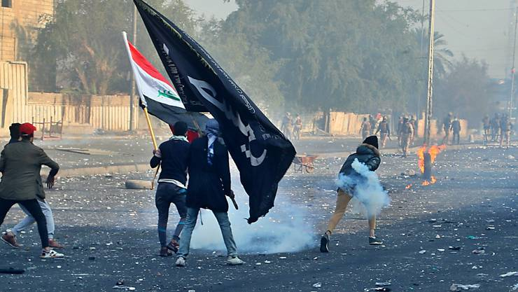 Die Wut auf die korrupte politische Elite im Irak ist nicht zu bändigen und macht sich weiterhin auf den Strassen von Bagdad und anderen Städten des Landes Luft.