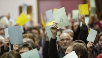 Die Teilnehmerzahl an der Gemeindeversammlung hat nach der Fusion der zehn Dörfer eindeutig abgenommen.