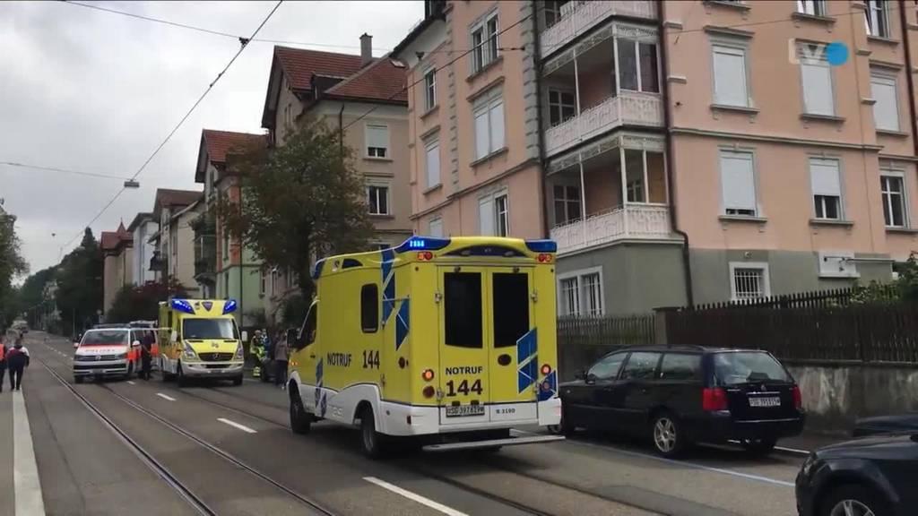 Grosseinsatz in St.Gallen wegen schwerer häuslicher Gewalt