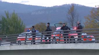 Der Mann sprang Ende Oktober von der Brücke. Die Suchaktionen blieben erfolglos.