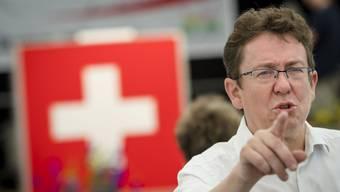 SVP-Parteichef Albert Rösti setzt auf das Thema Sicherheit.