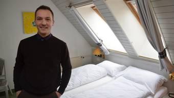 Die Hoteliers der Region – hier Robert Stöckli – sind nicht beunruhigt.ES
