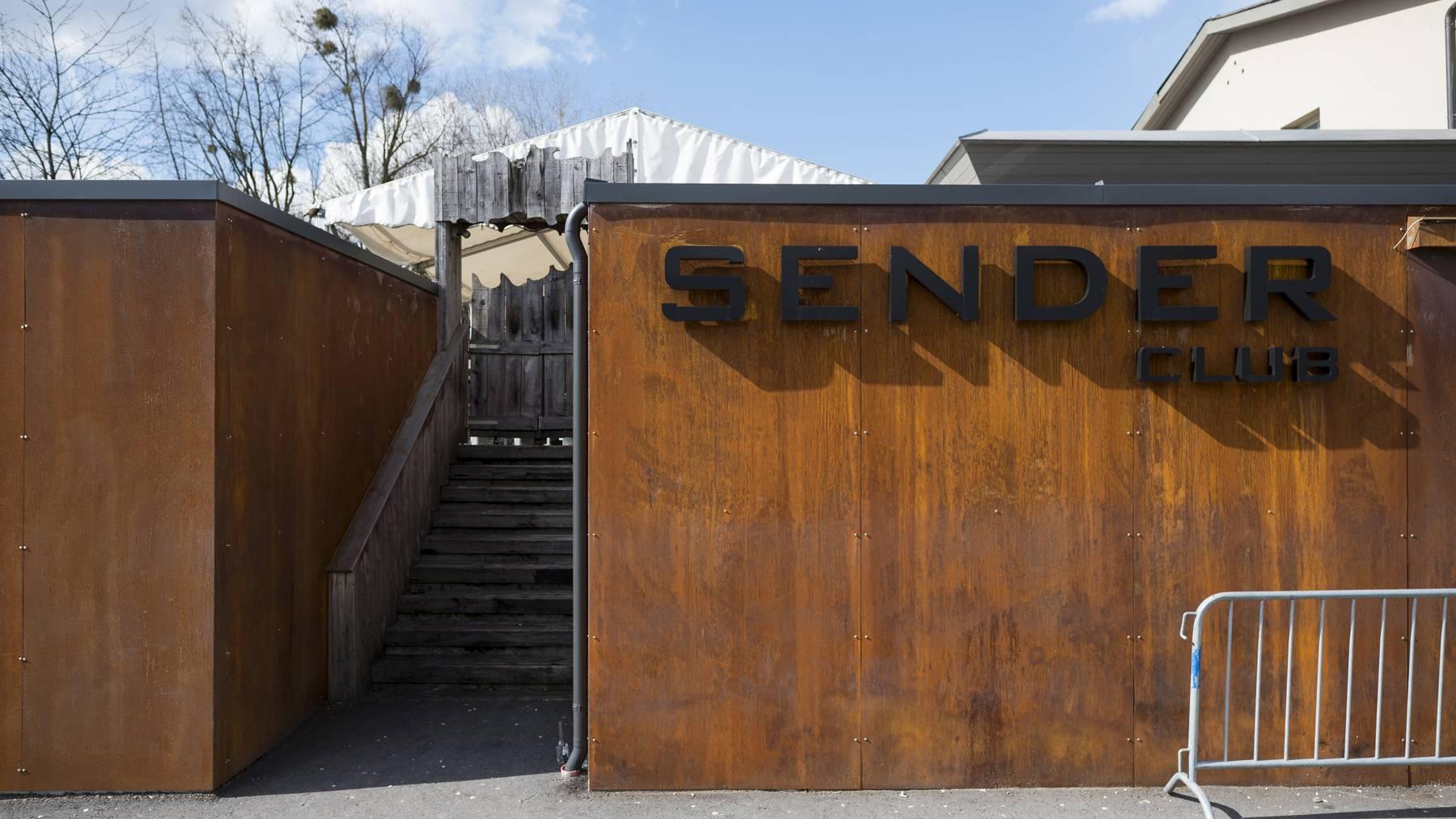 Eingang der Lustenauer Disco «Sender».