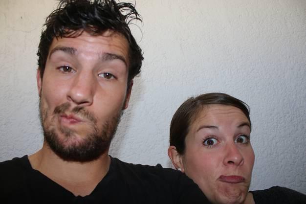 Von Mazatlan nach El Rosario: Das Selfie mit Octavio haben wir aus Versehen gelöscht (Lea war's!). Er war aber ohnehin nicht gerade ein angenehmer Typ.