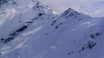 Die Flanke am Corne de Sorebois oberhalb von Zinal