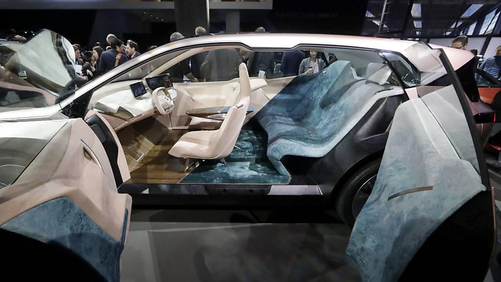 BMW will in China zahlreiche vollelektrische Autos lancieren (Archivbild)