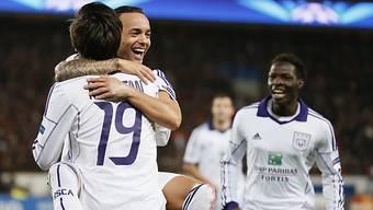 De Zeeuw sorgte für erstes Tor von Anderlecht in dieser CL-Saison.