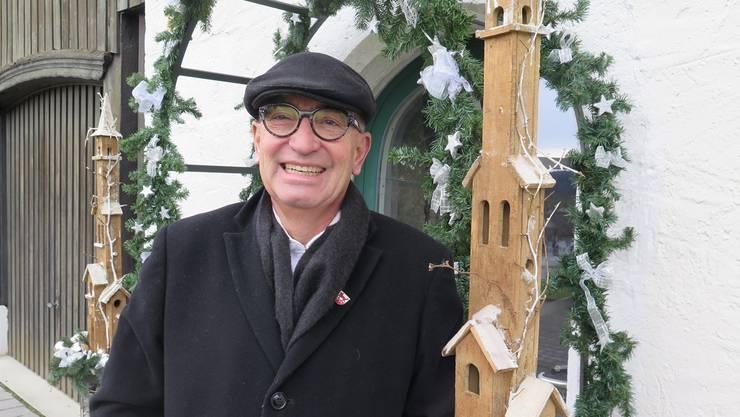 Bruno A. Wirth verabschiedet sich als langjähriges Mitglied aus der Kulturkommission in seiner Heimatgemeinde Wolfwil.