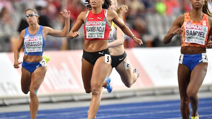 Mujinga Kambundji läuft auch über die 200 m in den EM-Final