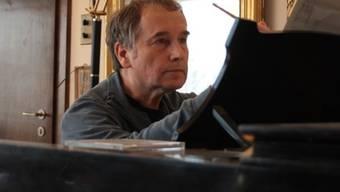 Der Komponist, Musiker und Dirigent Urs Joseph Flury wird mit dem Solothurner Kunstpreis 2016 ausgezeichnet. (Pressebild)