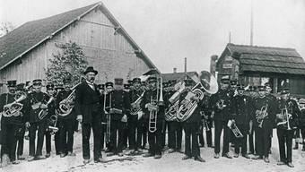Historische Aufnahme der Musikgesellschaft Boswil