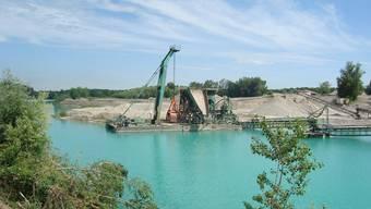 Bei dem vom privaten Büro Courvoisier lancierten IBA-Projekt sollen Kiesgruben in Naherholungsräume für die Bevölkerung umgewandelt werden.