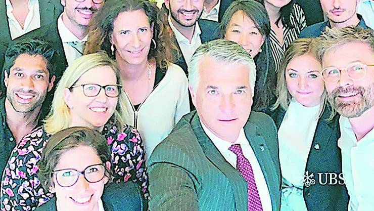 Sergio Ermotti, CEO UBS: LinkedIn, 167'000 Follower