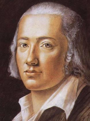 Johann Christian Friedrich Hölderlin (1770-1843).