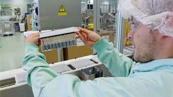 Dank der Pharmaindustrie ist das Fricktal die drittbeste Wirtschaftsregion der Schweiz. (Symbolbild)