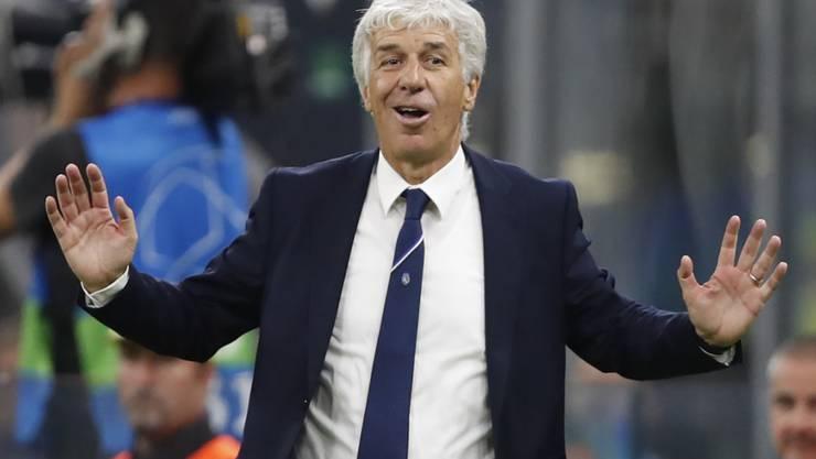 Bergamos Trainer Gian Piero Gasperini hatte Angst um sein Leben
