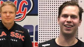 Simo Ruuskanen (links), Antti Peiponen (rechts)