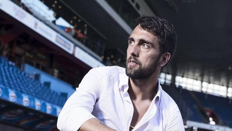 FCB-Captain Matías Delgado vor dem Start heute gegen Ludogorets Rasgrad: «Wir müssen gewinnen.»