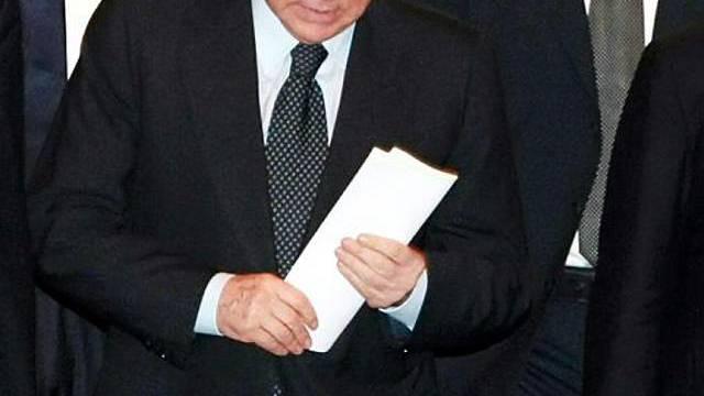 Italiens Regierungschef Berlusconi schrieb einen Brief (Archiv)