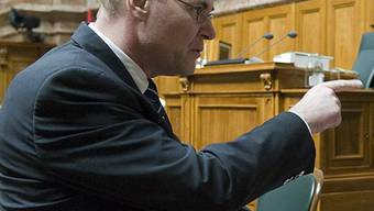 Markus Hutter im Nationalrat (Archiv)