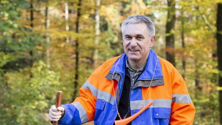 Als Treiber mit dabei: SVP-Regierungsrat Alex Hürzeler