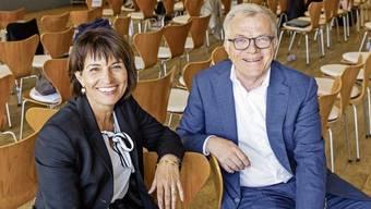 Doris Leuthard wurde von Coop-Präsident Hansueli Loosli in den Verwaltungsrat geholt. Sie wird nun Vizepräsidentin.