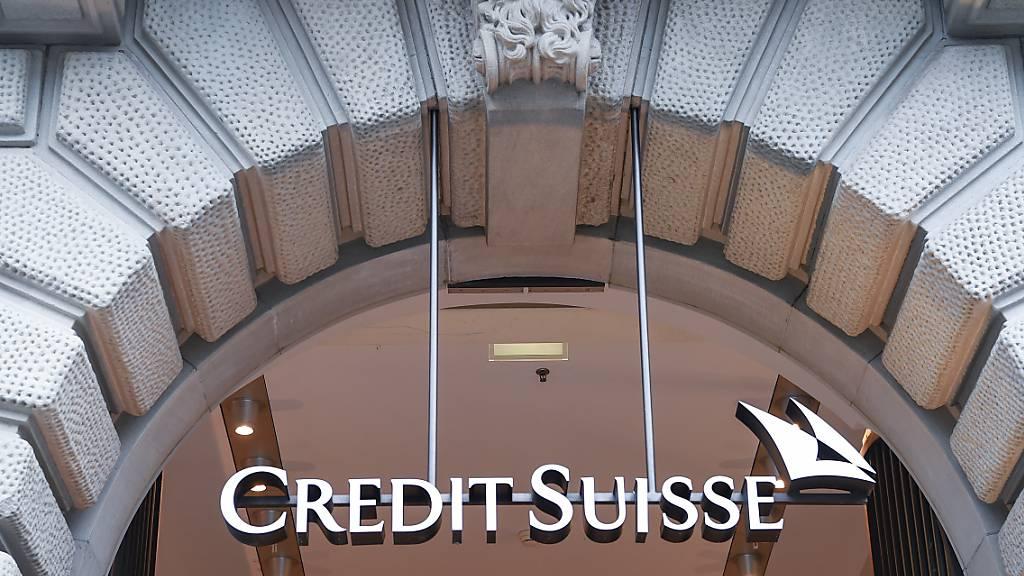 Die Grossbank Credit Suisse hat sich in den USA bei einem Rechtsstreit auf einen Vergleich geeinigt. (Archivbild)