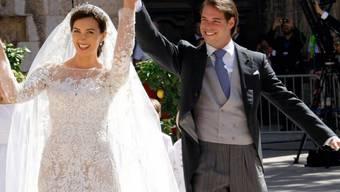 Ein Hurra auf das frisch vermählte Paar!