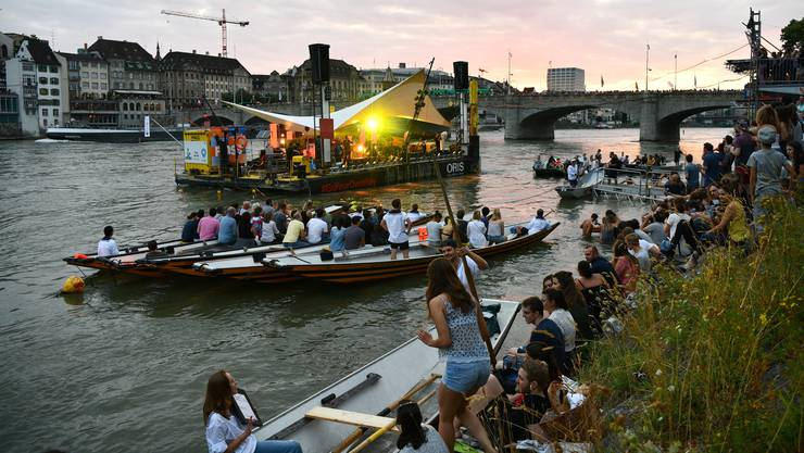 Statt sommerliche Hitze gibt es jetzt herbstliche Temperaturen: Das Festival «Im Fluss» findet 2020 im September statt.