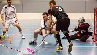 Heimauftritt von Unihockey Limmattal gegen Lenzburg