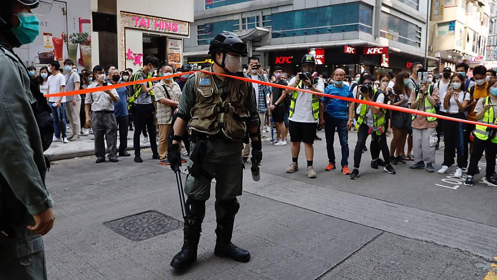 Umstrittene Gesetze lösen neue Proteste in Hongkong aus