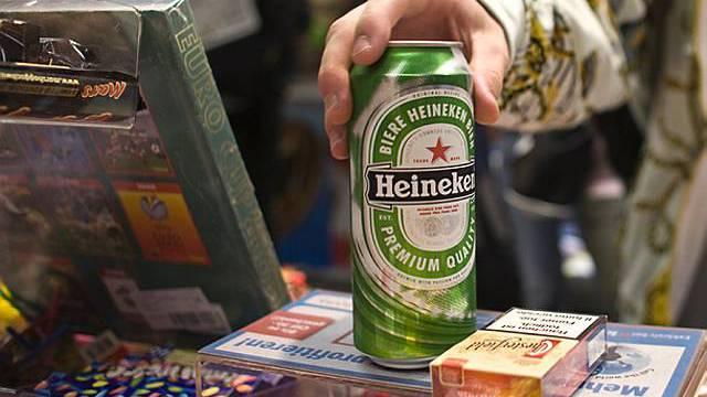 Heinekens Umsatz ist im dritten Quartal gesunken (Archiv)