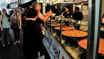 Das Streetfood Festival (hier in der Markthalle) war 2017 ein grosser Erfolg.UW