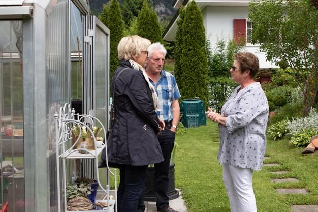 Der Zier- und Nutzgarten von Ruth und Robert Vogt in Welschenrohr.
